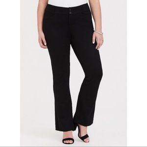 TORRID   Ponte Fabric Tailored Pants Stretch